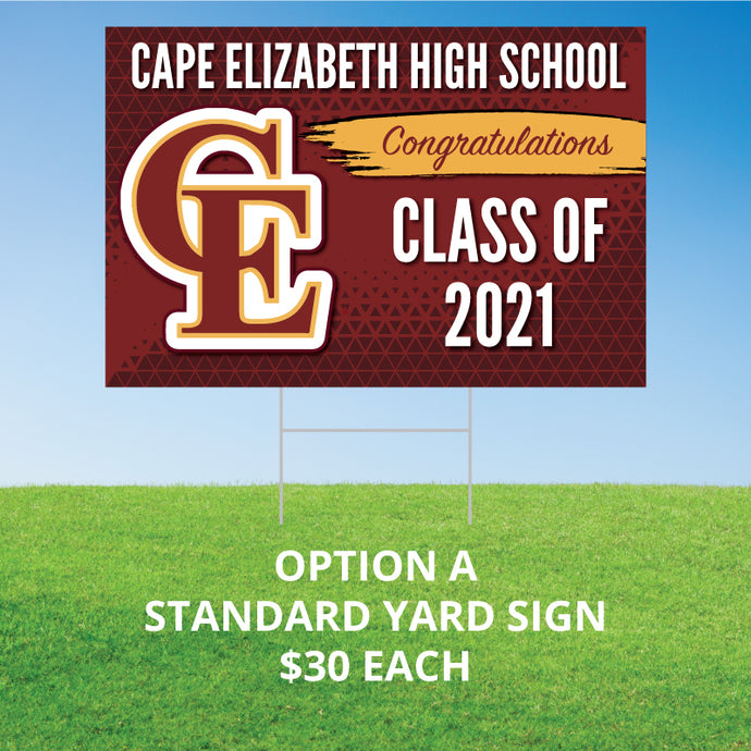 Cape Elizabeth High School Yard Signs
