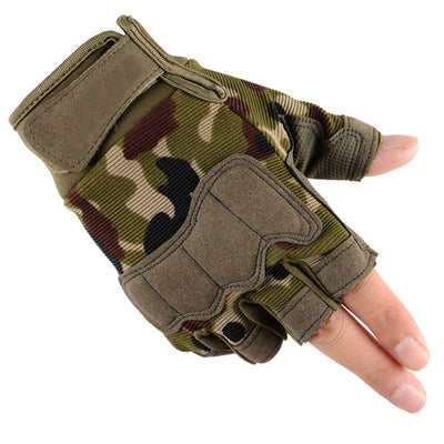 Camouflage Tactical Style Gym Gloves