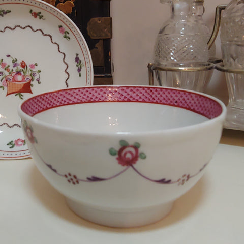 New Hall Sugar Bowl c1787