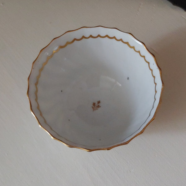Gold and White Tea Bowl