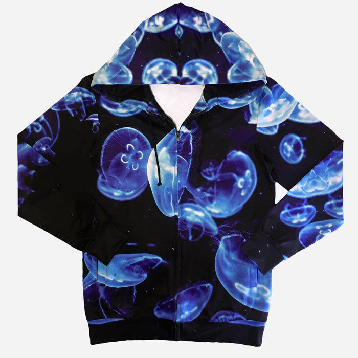 Jellyfish Hoodie All over print