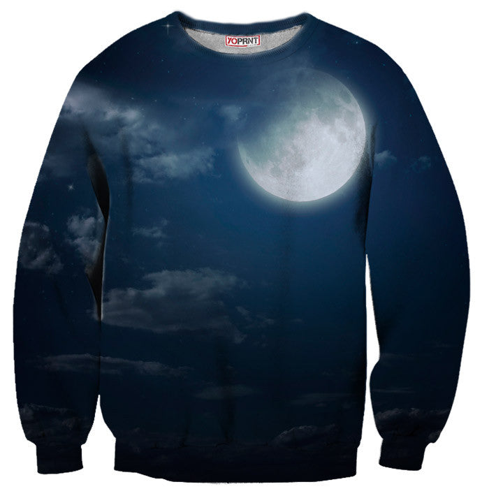 Full Moon Night Sweatshirt