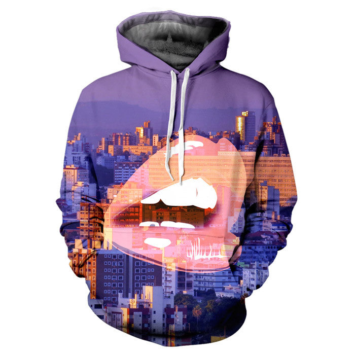 Lips and the City Hoodie