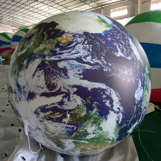 Inflatable Globe Educative Earth Planets Balloons Decoration
