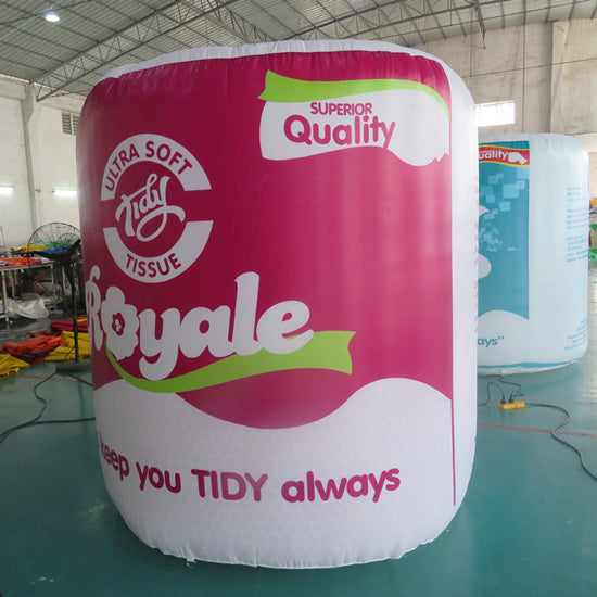 Giant Inflatable Branded Tissue Replicas Advertising