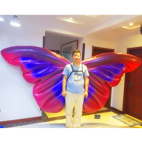 Inflatable Butterfly Backpack Wings For Parades