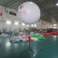Multicolor LED Lighting Balloons Balloons Advertising With Remote Control