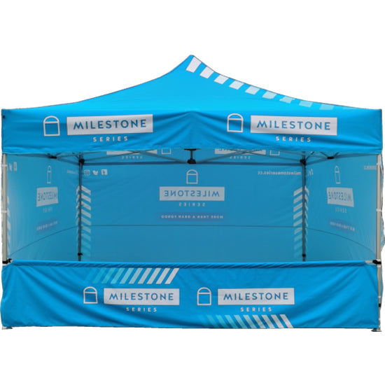 Foldable Marquees Pop Up Gazebo Race Events Triathlon Festivals Sponsored LOGO Printed