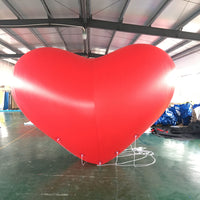 Inflatable Love Heart Helium Decor Balloons