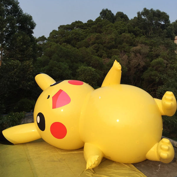 inflatable pokemon go pikachu helium parade balloons replica decoration