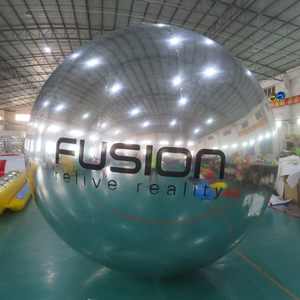 Mirror Surface Balloons Advertising Logo Printed 3mD AirTight