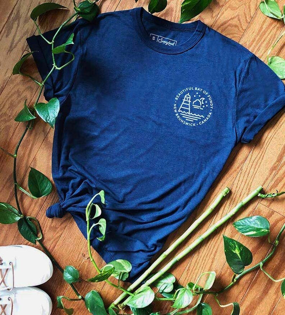Bay of Fundy Small Print Tee