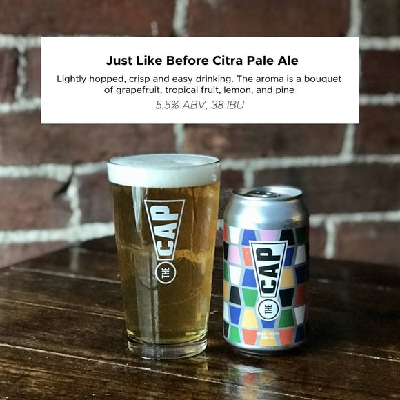 Just Like Before Citra Pale Ale 355ml can