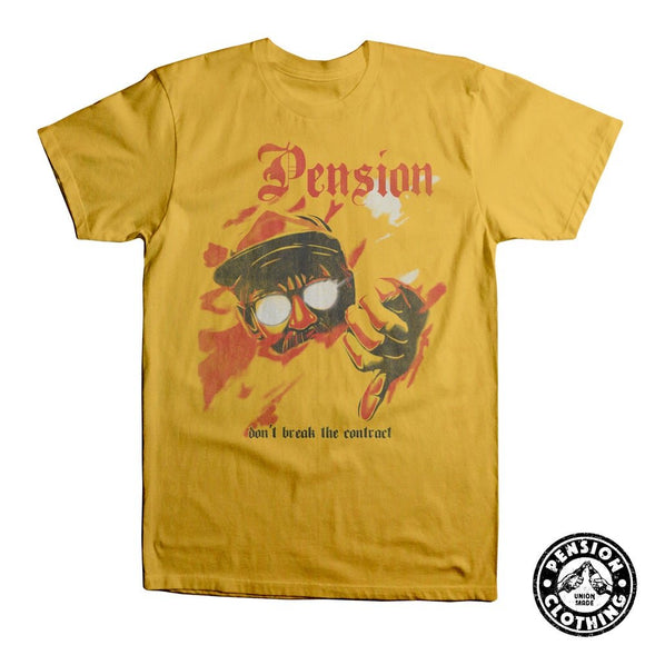 Pension Yellow Contract Standard T-Shirt
