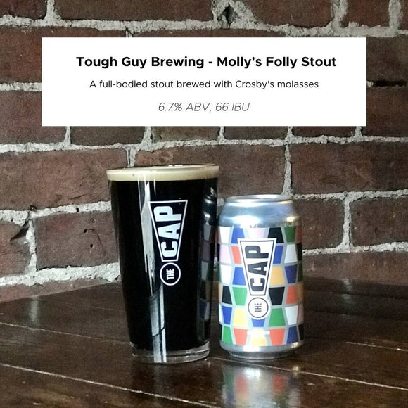 Tough Guy Brewing - Molly's Folly Stout 355ml cans
