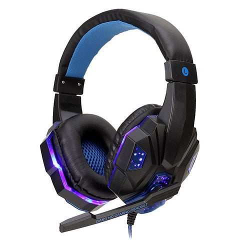 Fone Headset Gamer PS4 / PS5 / XBOX series / SWITCH / PC / LAPTOP Blue