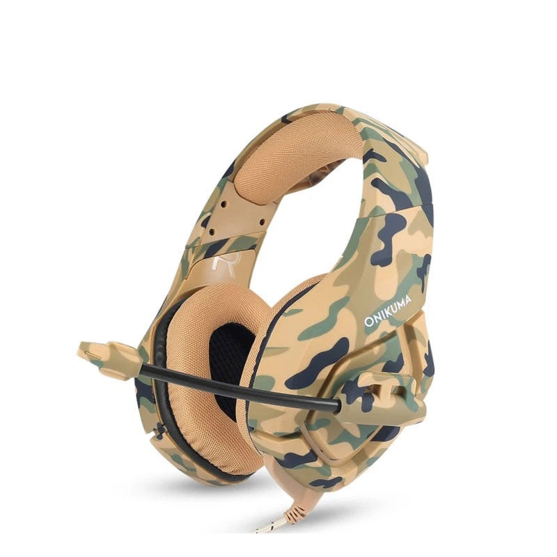 Headset Gamer Onikuma K1-B  Yellow
