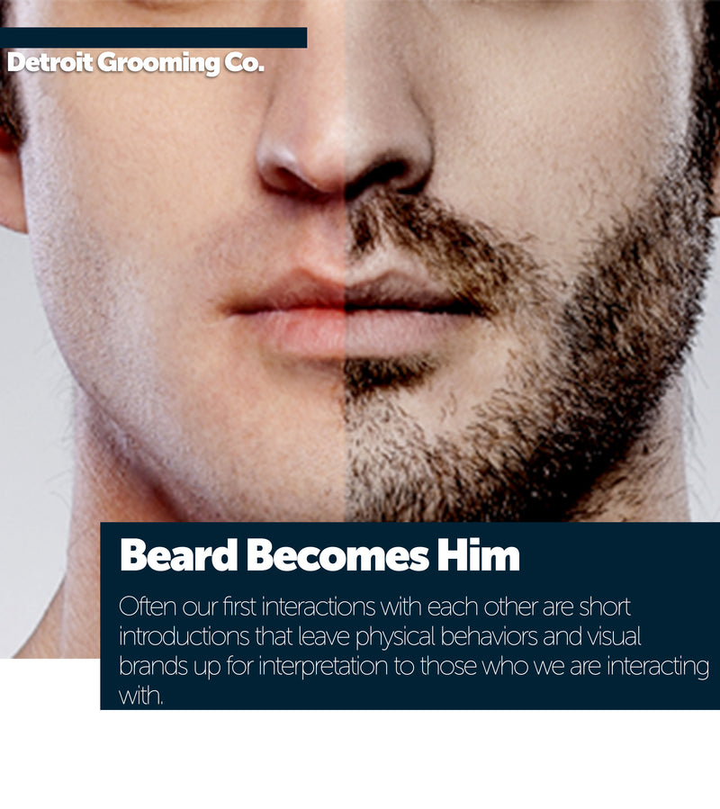 Beard Becomes Him | Personal Branding on the Surface of your Face