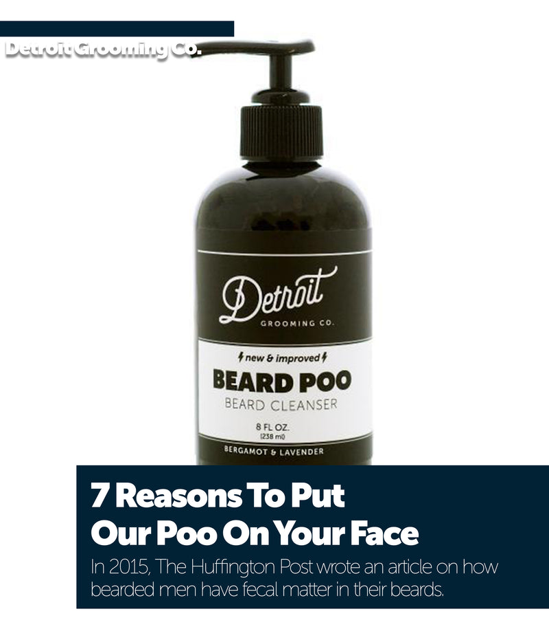 7 Reasons To Put Our Poo On Your Face