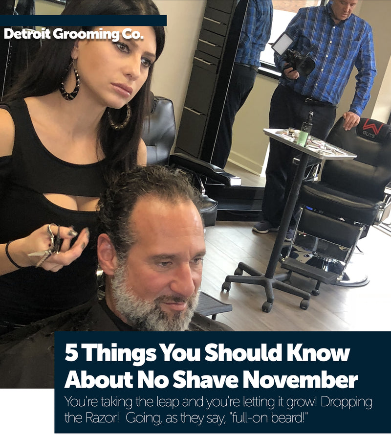 5 Things You Should Know About No-Shave November
