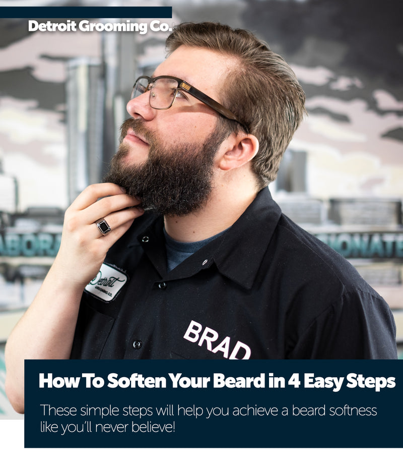 How To Soften Your Beard in 4 Easy Steps