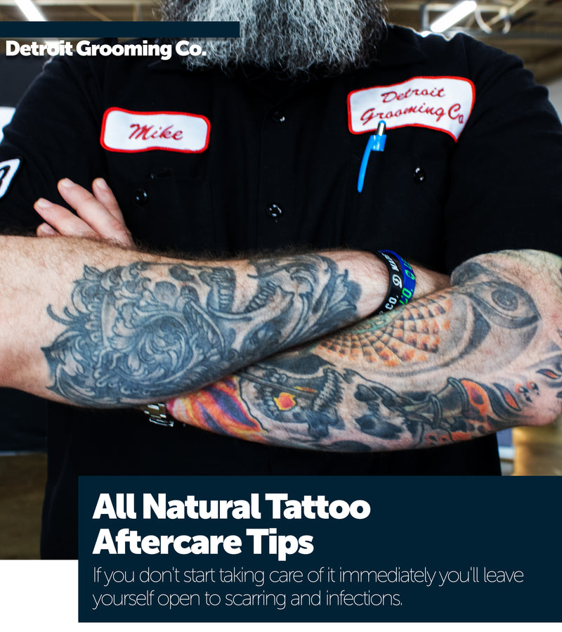 All Natural Tattoo Aftercare Tips