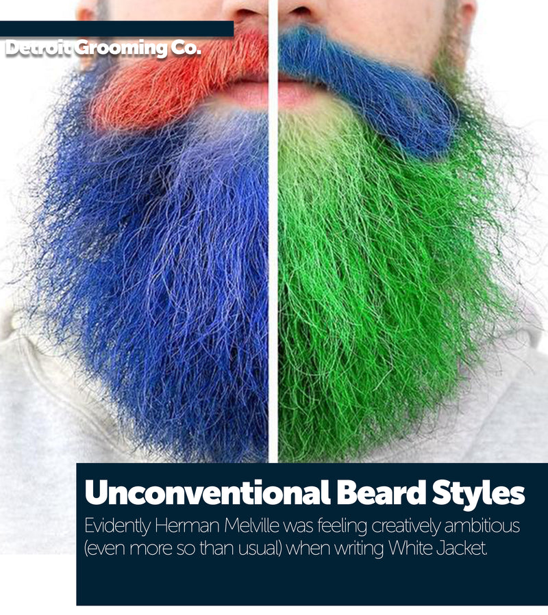 Unconventional Beard Styles