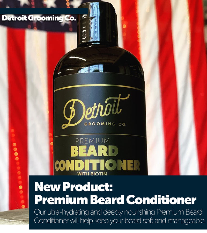 NEW PRODUCT: Premium Beard Conditioner with Biotin