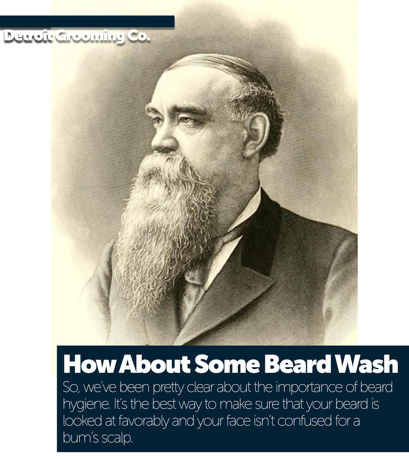 How About Some Beard Wash, Fellas?