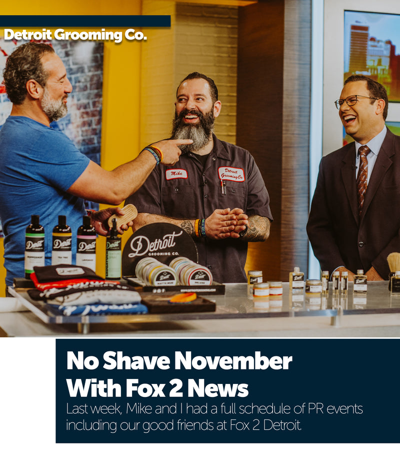 No Shave November With Fox 2 News