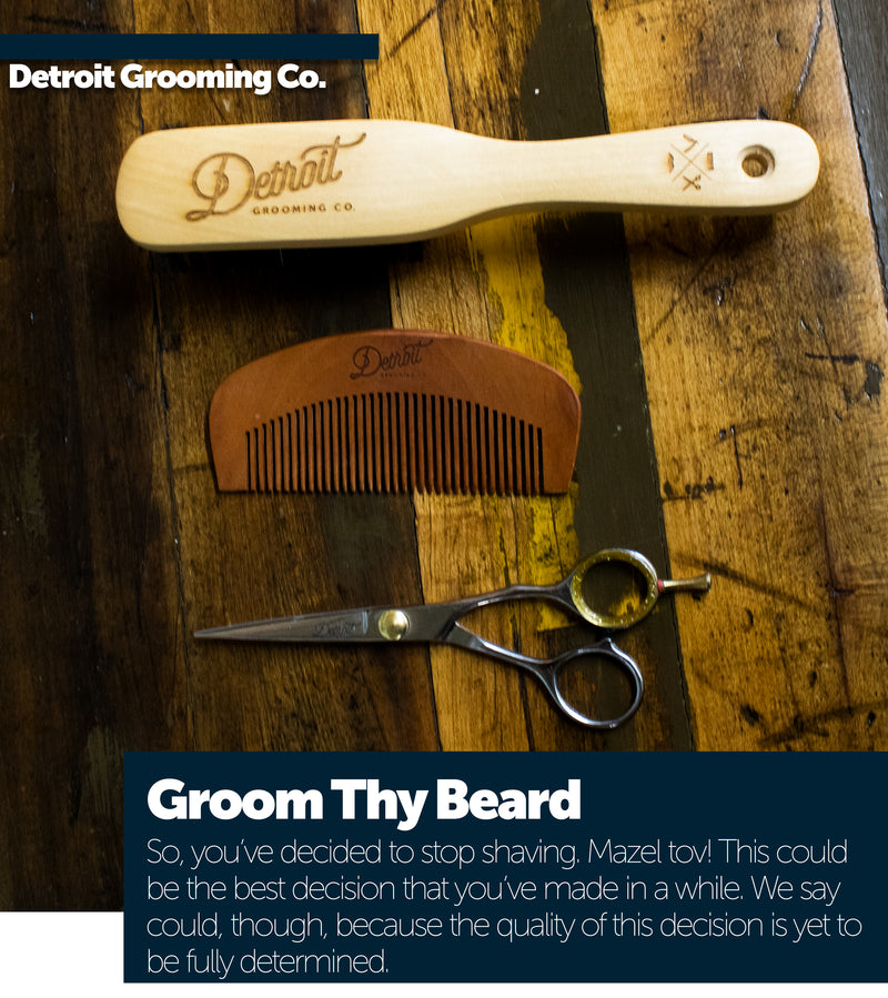 Groom Thy Beard