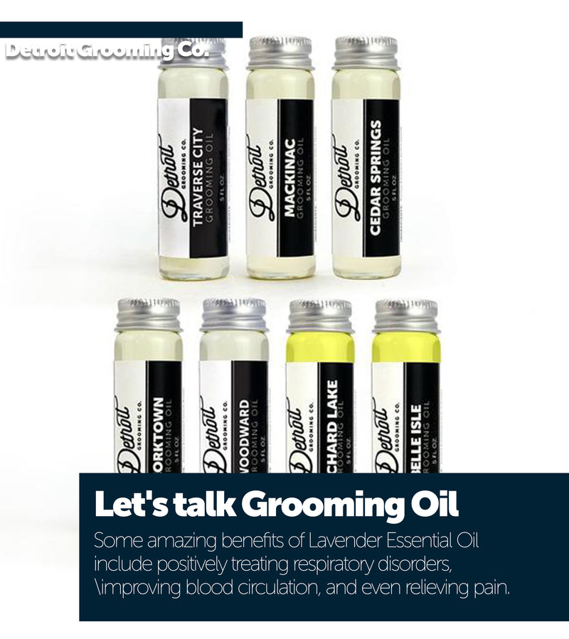 Let's talk Grooming Oil