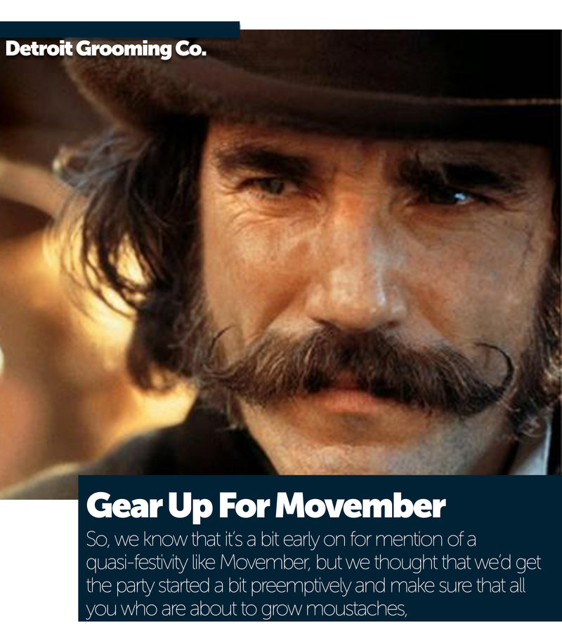 Gear Up For Movember