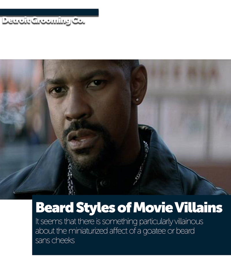 Beard Styles of Movie Villains