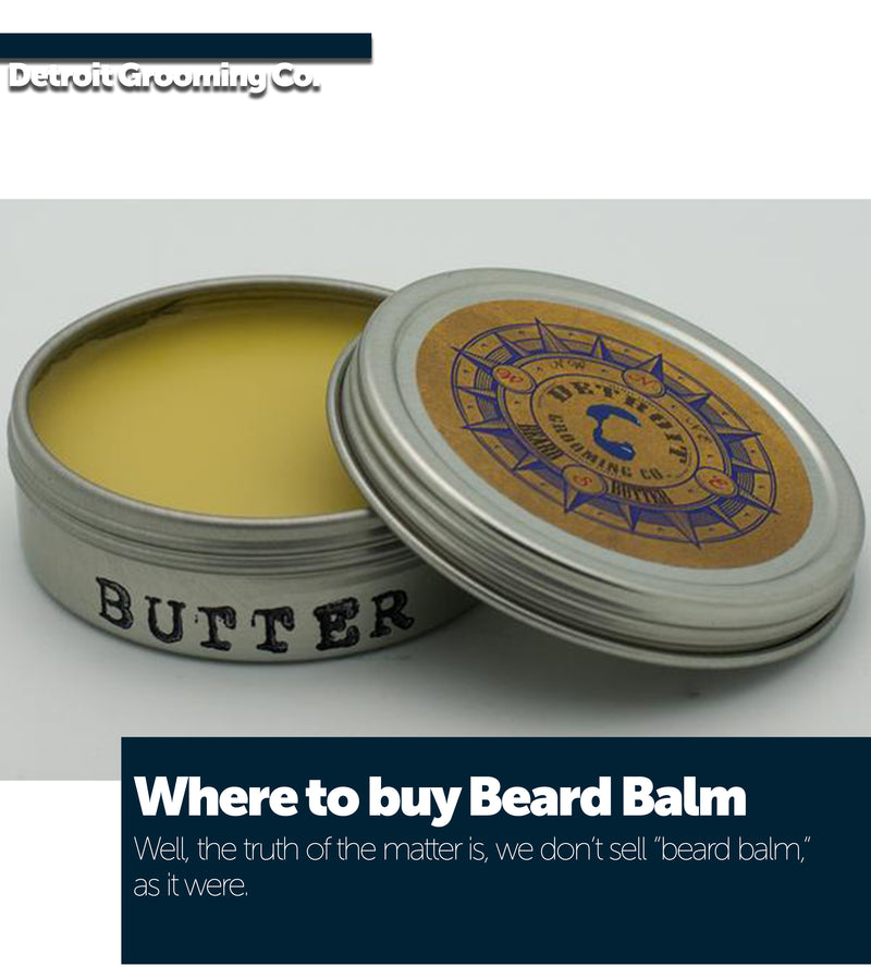 Where to buy beard balm