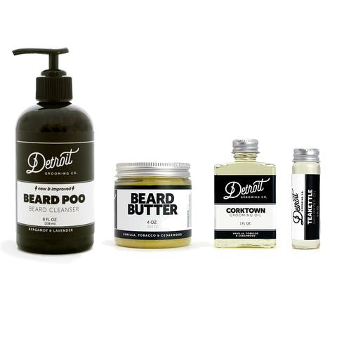 Detroit Grooming Company Basic Beard Kit
