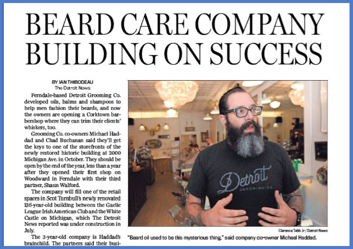 Detroit Grooming Co. Comes to Corktown