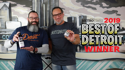 "Detroit Grooming wins HOUR Magazine and Metro Times Magazine ""Best of Detroit!"""