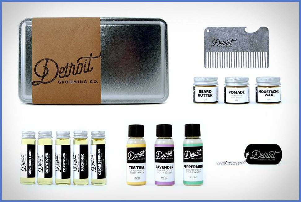Grooming Kits from Detroit Grooming Co.