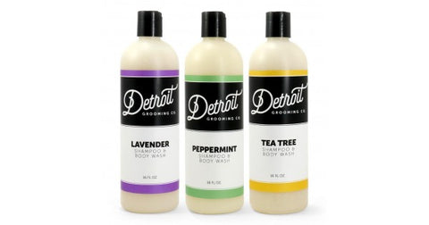 Shampoo for Men | Lavender, Peppermint, and Tee Tree shampoo