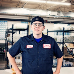 Matt, logistics manager, loves Detroit Grooming Co.'s Grooming Oils