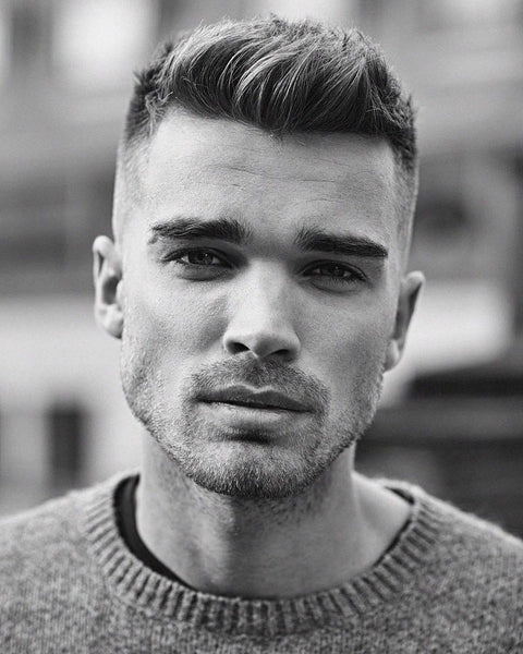 short mens haircut