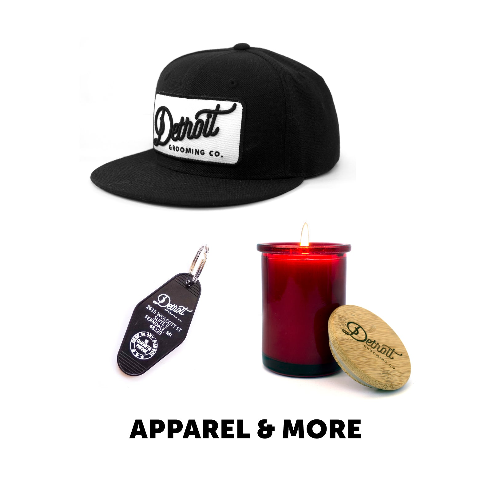 Men's Clothing, Apparel, and Accessories from Detroit Grooming Co.