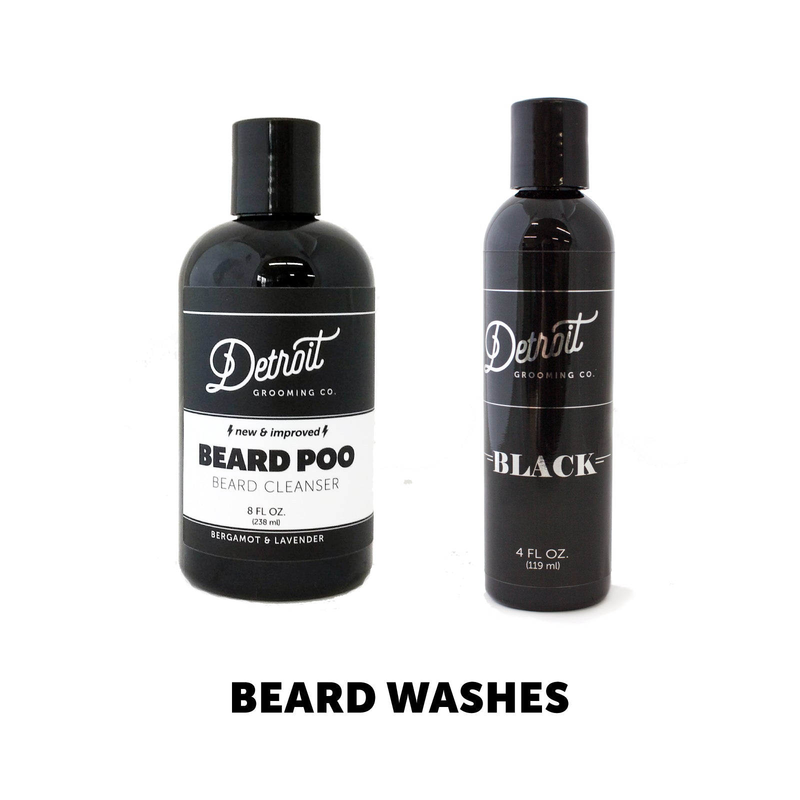 Beard Grooming Products - Beard Wash Collection