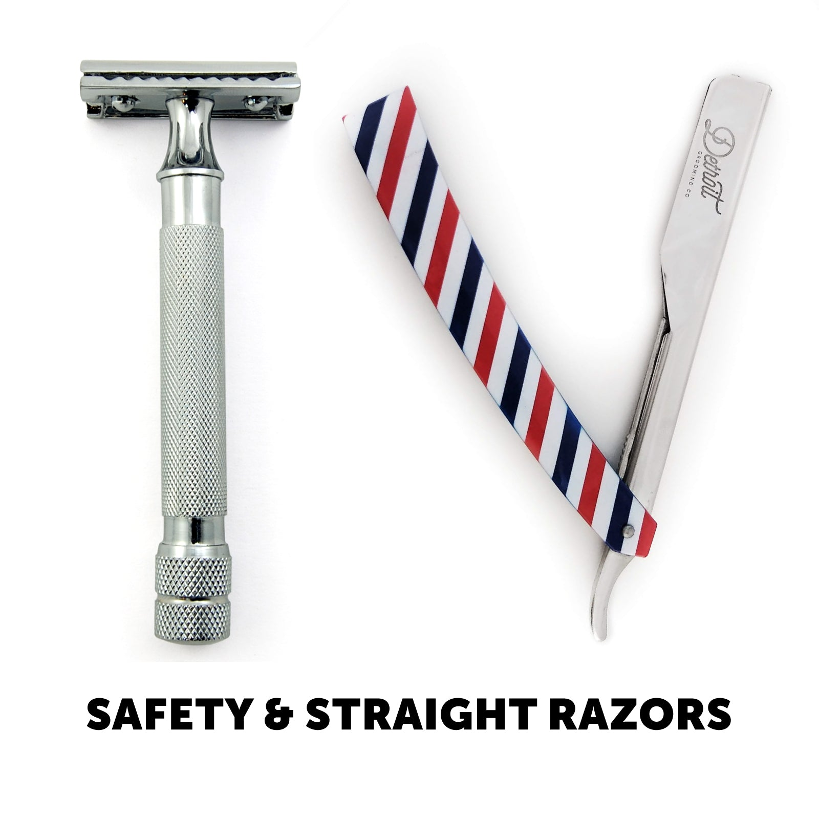 Safety Razors and Straight Razors Collection
