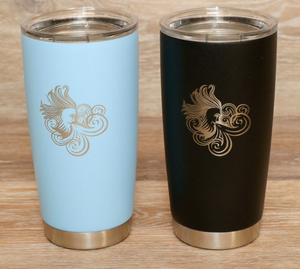 20oz Insulated Tumbler with Laser Etched Aeolus Logo
