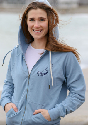 Full Zip 10 Meter Sail on Edge Hoody