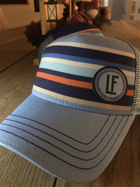 Sunset Stripes Trucker