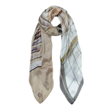 AIRPORT SILK SCARF