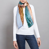 BEACH LIFE SILK SCARF